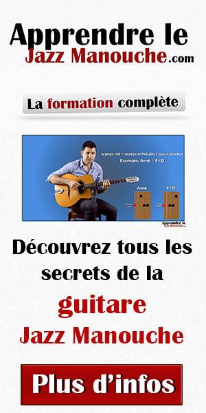 Apprendre le Jazz Manouche - 3 cours gratuits