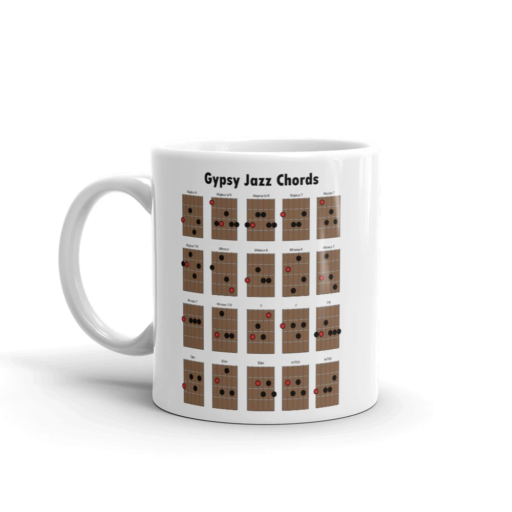 Mug Accords Jazz manouche