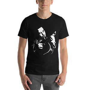 T-shirt guitare jazz manouche Django Reinhardt