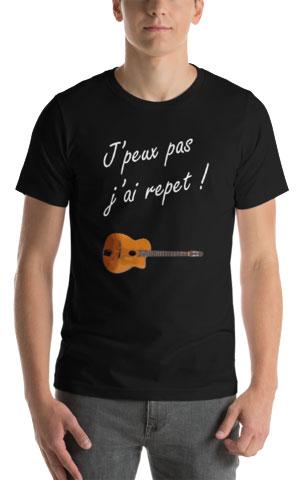T-shirt j'peux pas j'ai repet